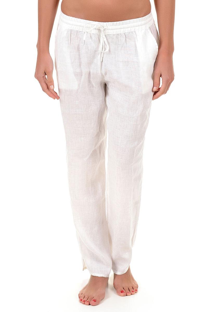 Letnie spodnie damskie Sherie z kolekcji Iconique - IC7051Wh_kal