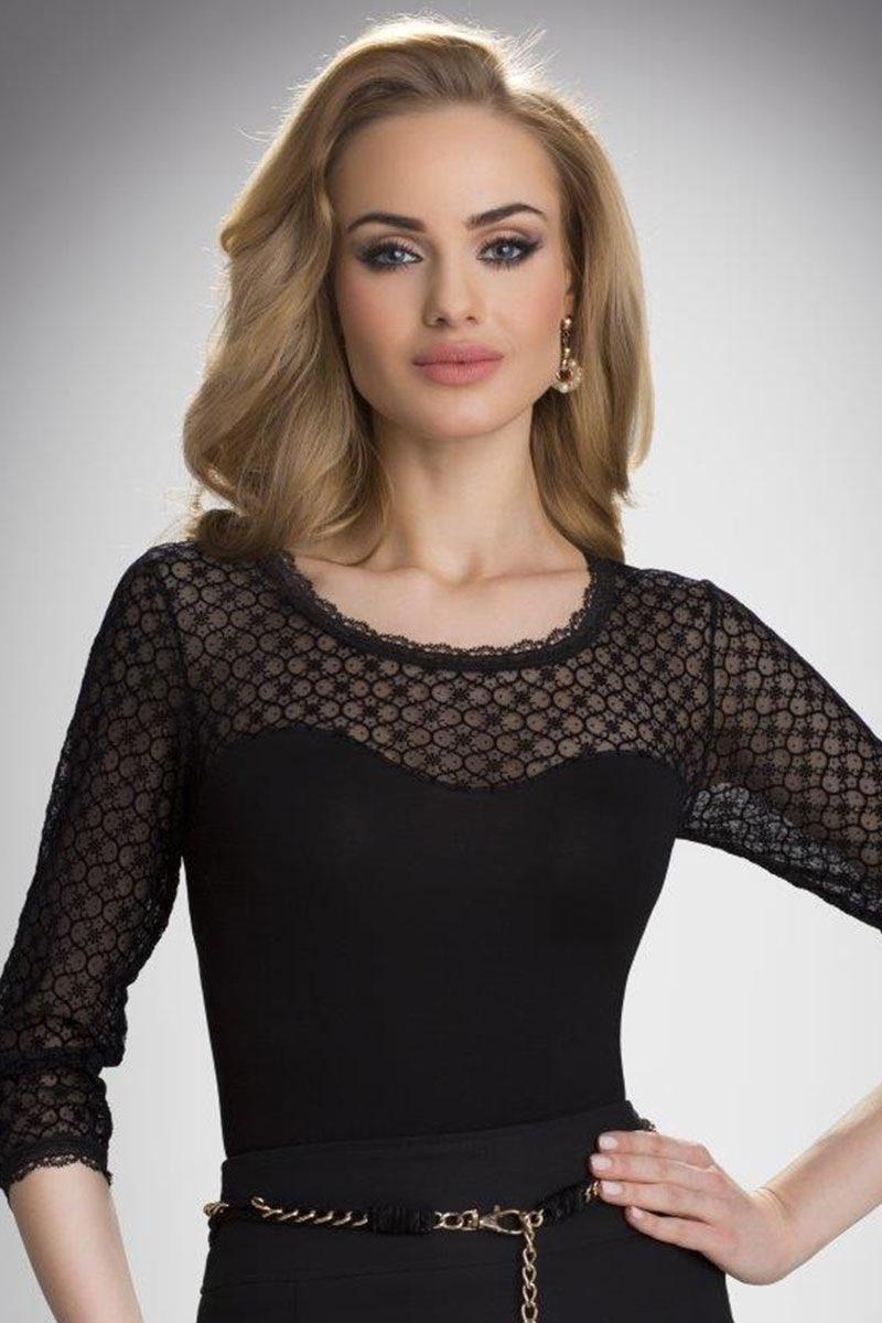 Damska koronkowa bluzka Isadora - Isadora_tri