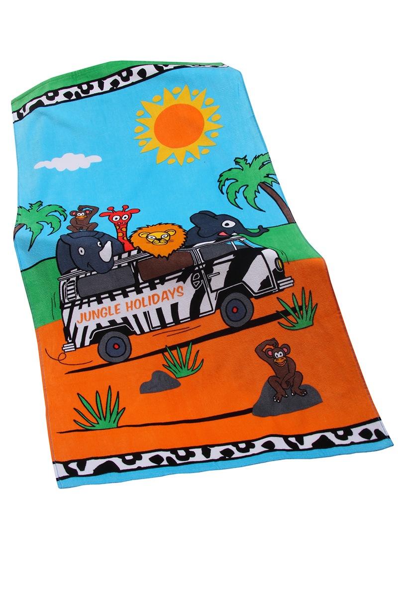 Dziecięcy ręcznik plażowy Jungle - Jungle1_osus