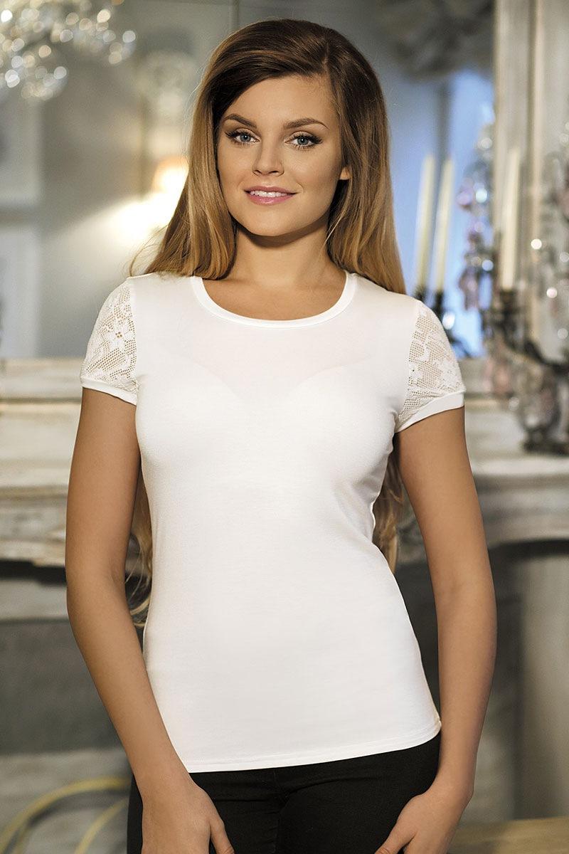Elegancka damska bluzka Kamelia - Kamelia_tri