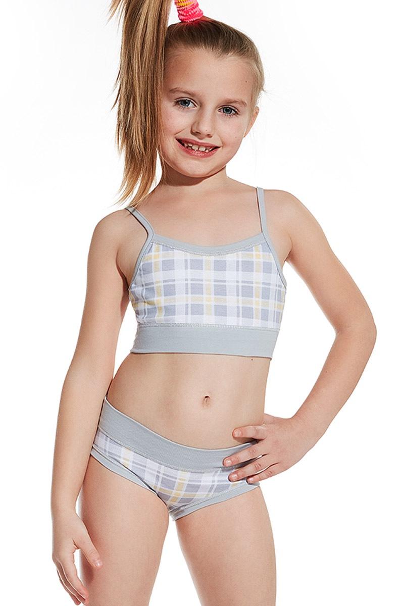 Dziewczęcy podkoszulek i majtki - set 83902 - Komplet839_02