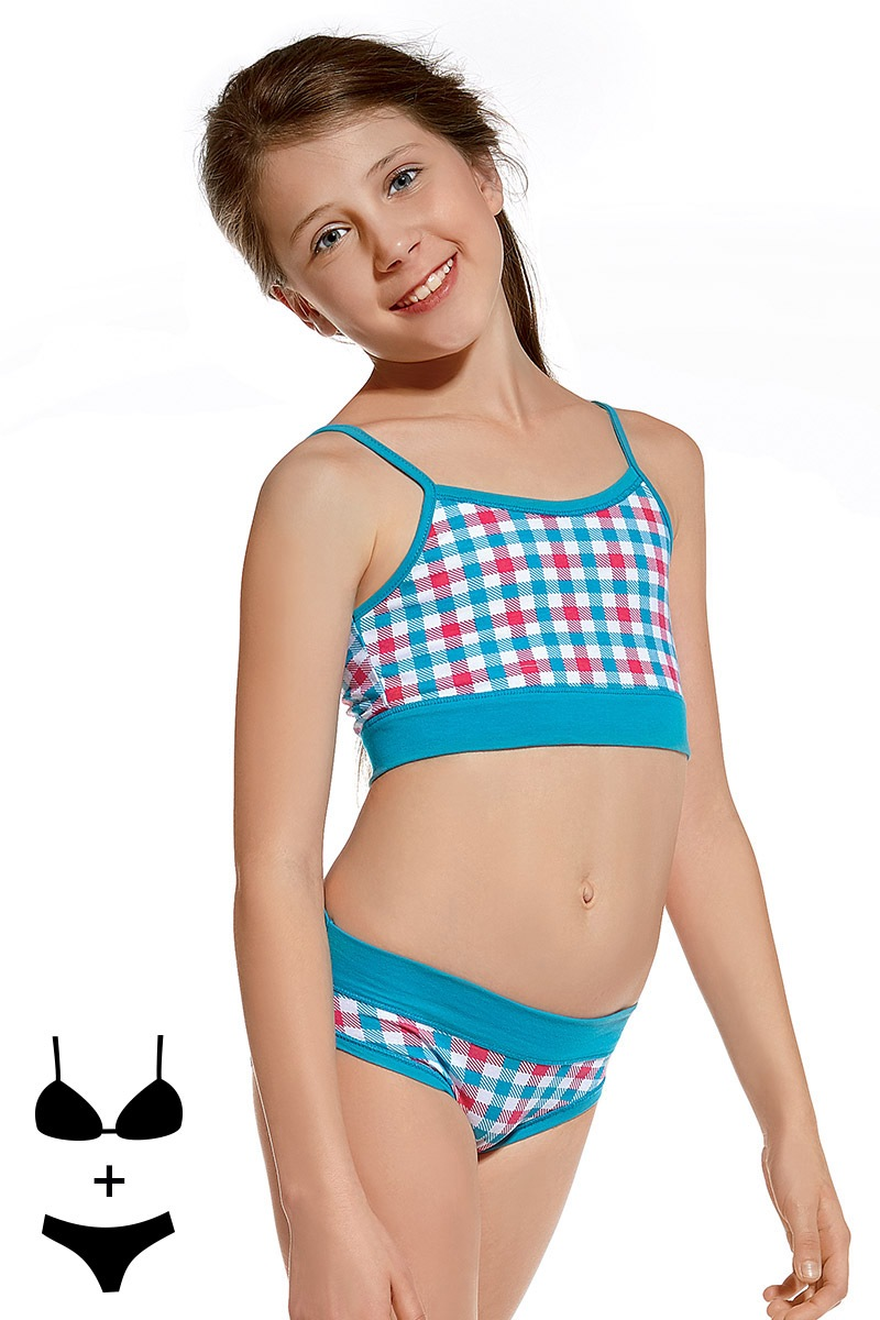 Dziewczęcy komplet: Top i figi 03 - KompletTop03