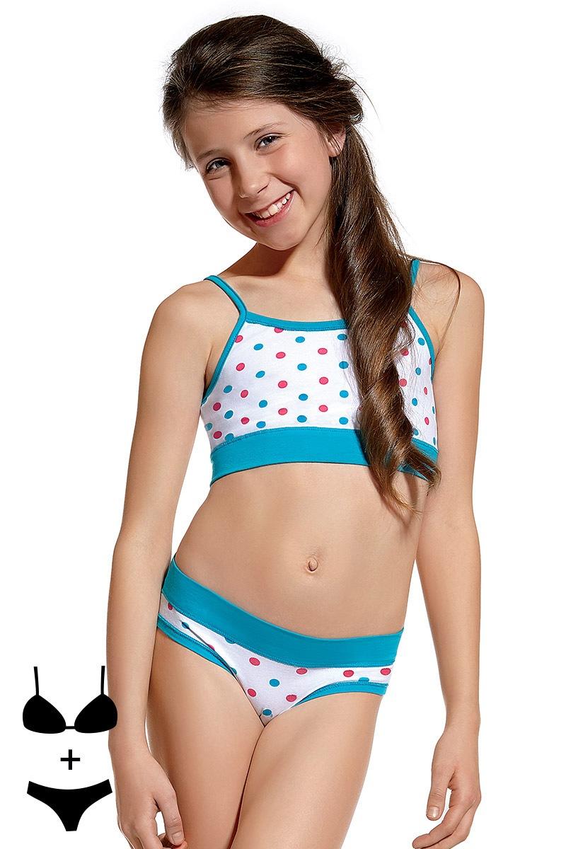 Dziewczęcy komplet: Top i figi 04 - KompletTop04
