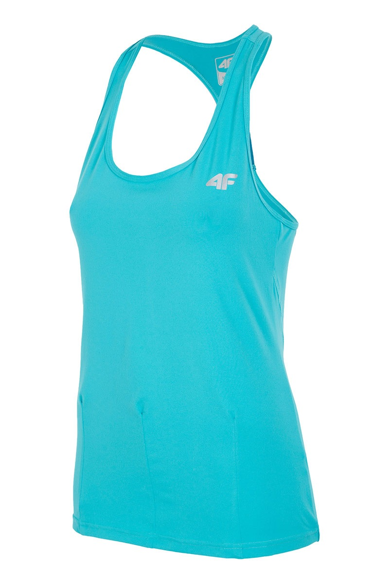 Damska koszulka sportowa Fitness 04 - L16_TSDF004_tri