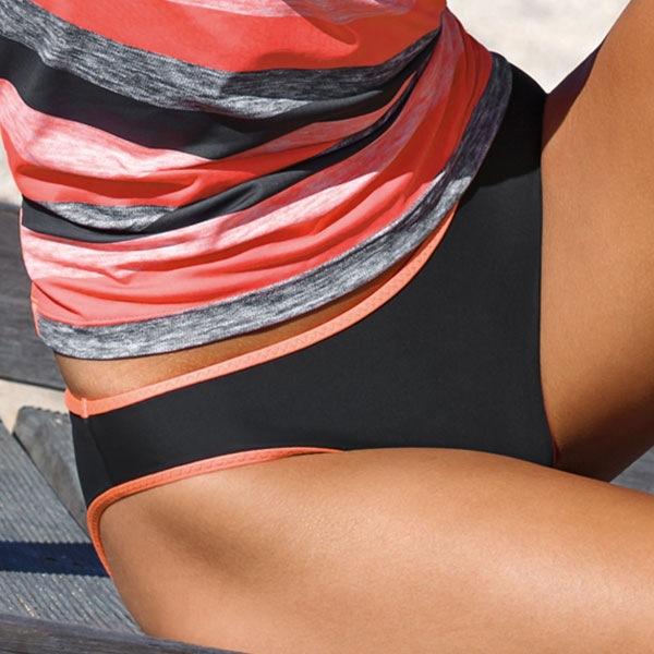 Figi od dwuczęściowego kostiumu kąpielowego Dea - L5028_kal
