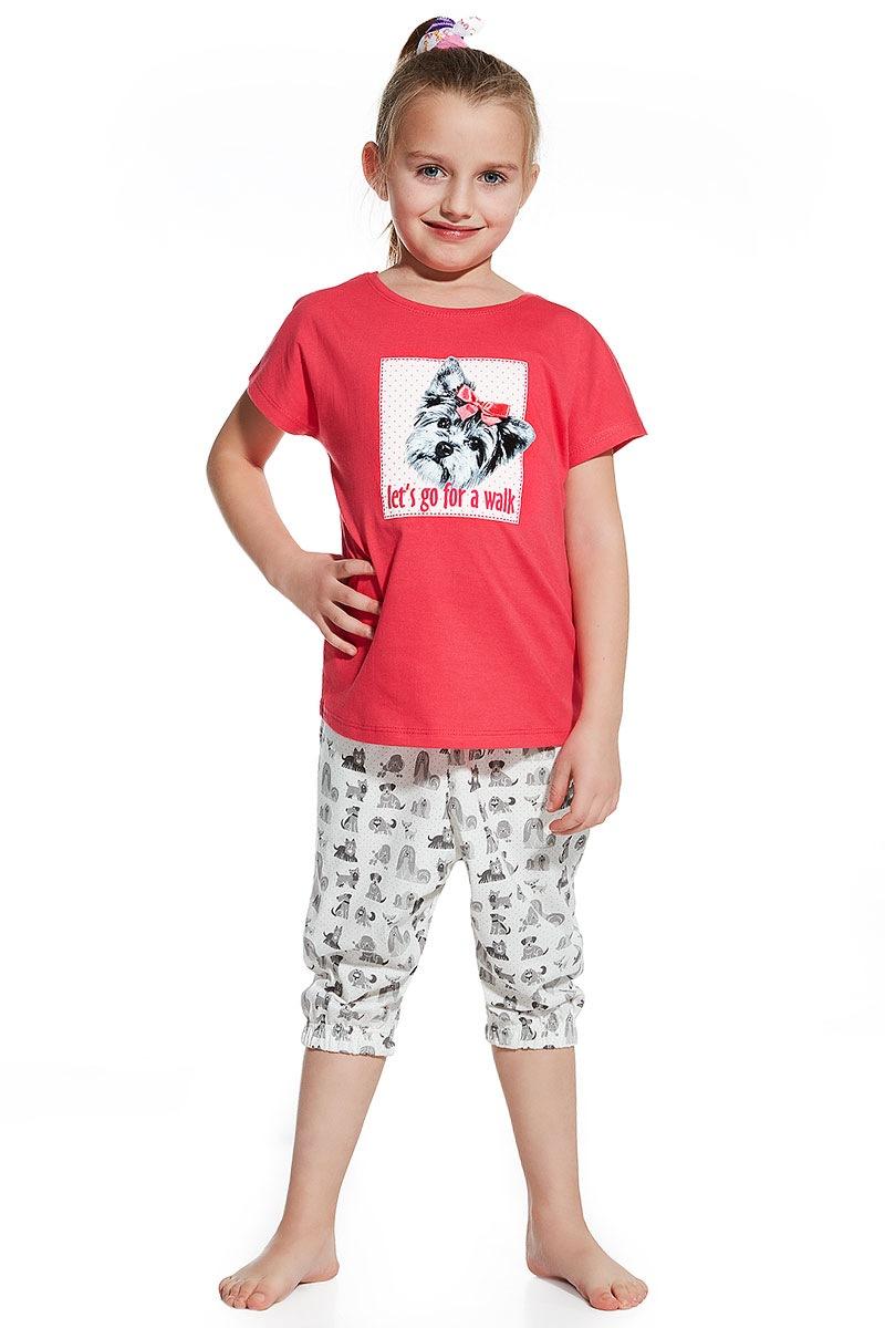 Dziewczęca piżama Let's go for walk - Letsgo08154_pyz