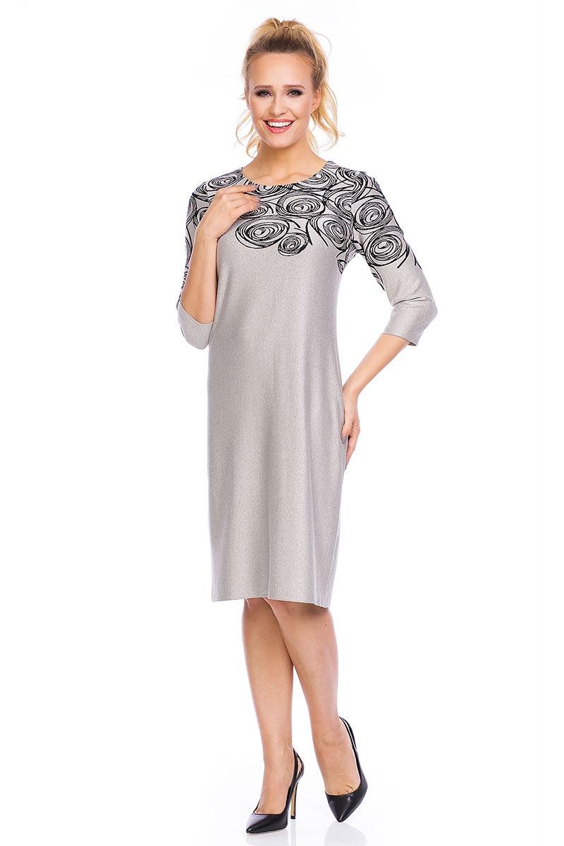 Elegancka sukienka Livia Beige - LiviaKolaBeige_sat