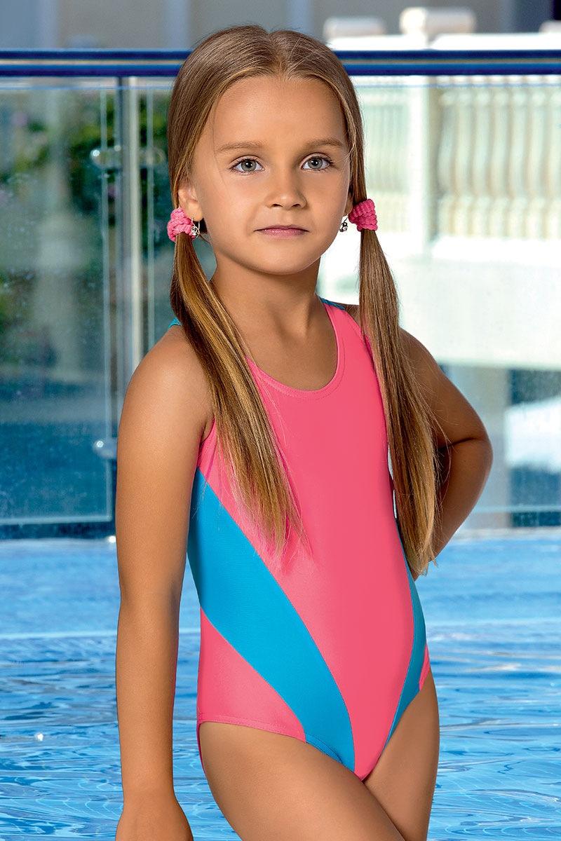 Dziewczęcy kostium kąpielowy Nicci M35 - M35