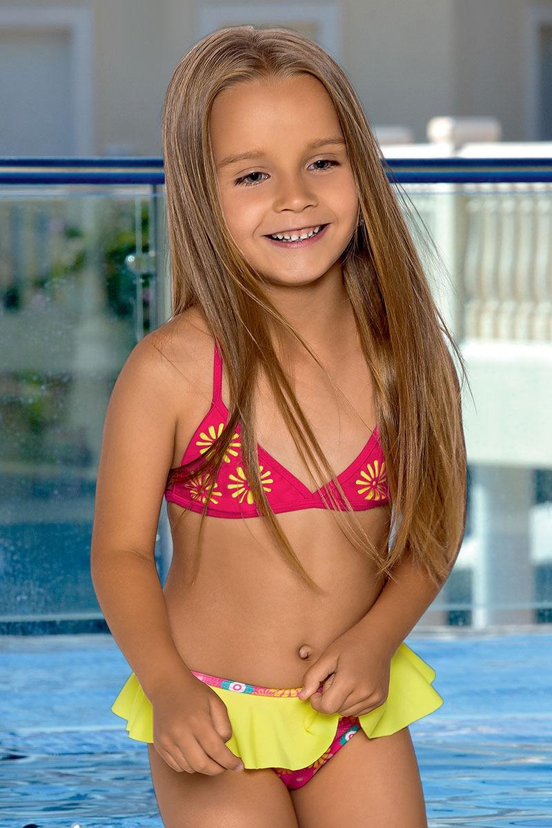 Dziewczęcy kostium kąpielowy Kaia - M38