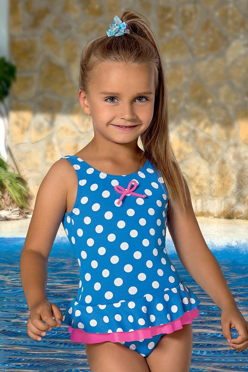 Dziewczęcy kostium kąpielowy Lili - M44