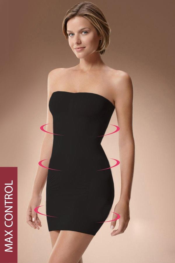 High-Wyszczuplająca sukienka 50405 maksimodelująca - M50405