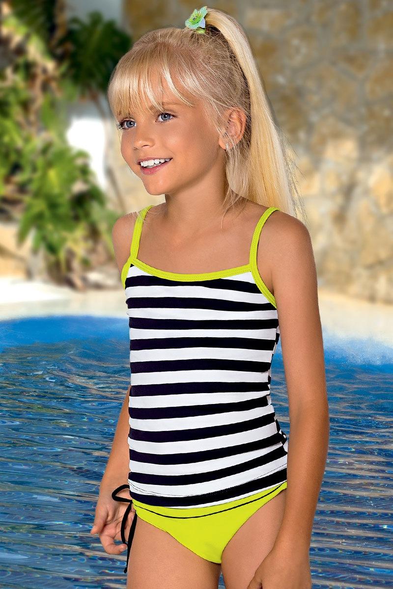 Dziewczęcy kostium kąpielowy Sisi M56 - M56