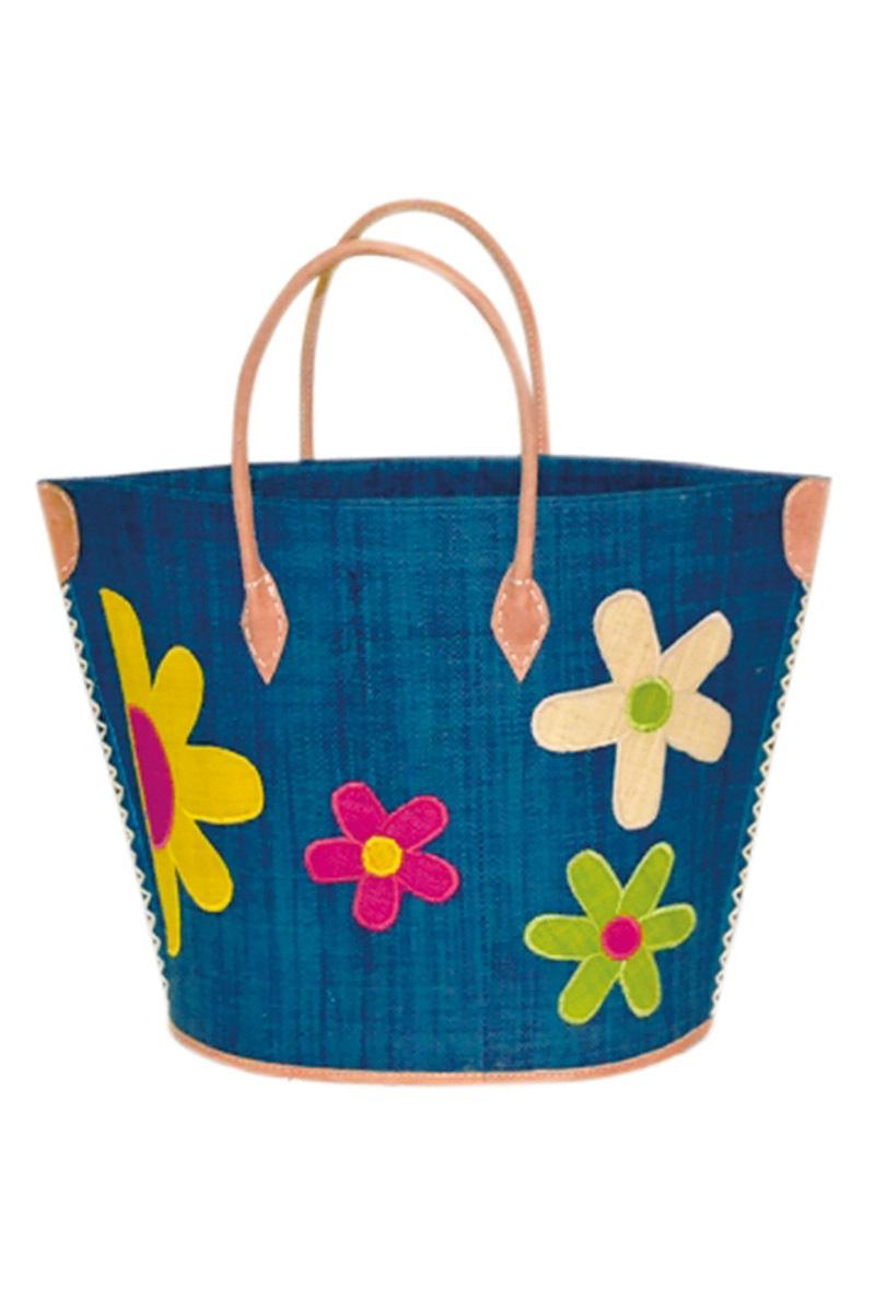 Duża torba plażowa Majunga Rita Turquoise - MajungaTurq