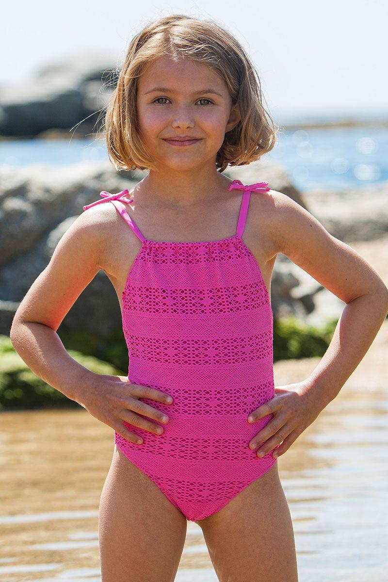 Dziewczęcy kostium kąpielowy Meres - Meres1