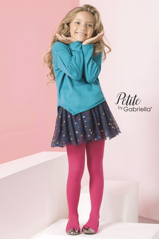 Dziewczęce rajstopy Ella - MicroKids740_pun