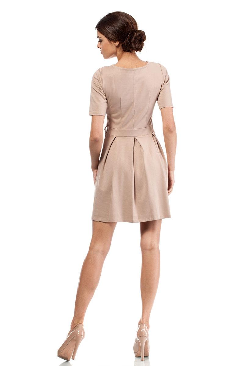 Elegancka sukienka Moe018 - Moe018_sat