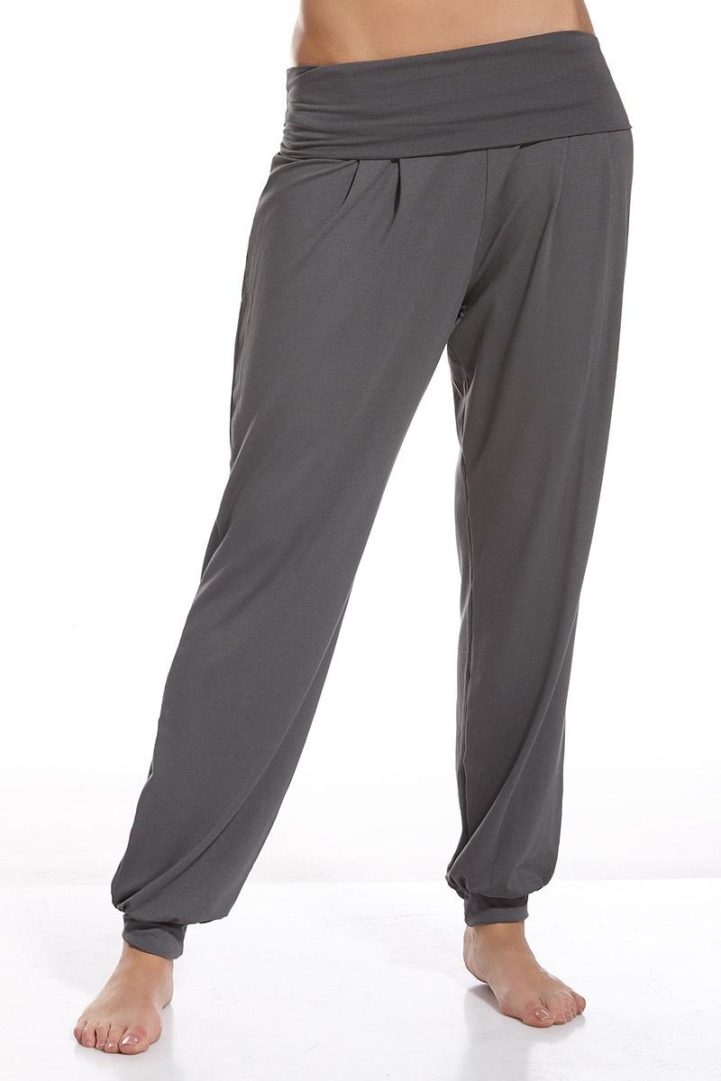 Damskie spodnie domowe Nora - NoraDl_kal