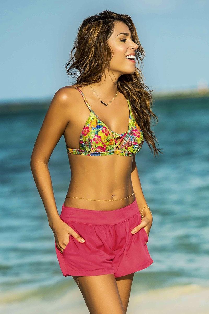 Damskie szorty plażowe Tropicana z kolekcji Phax - PF11740072_sor