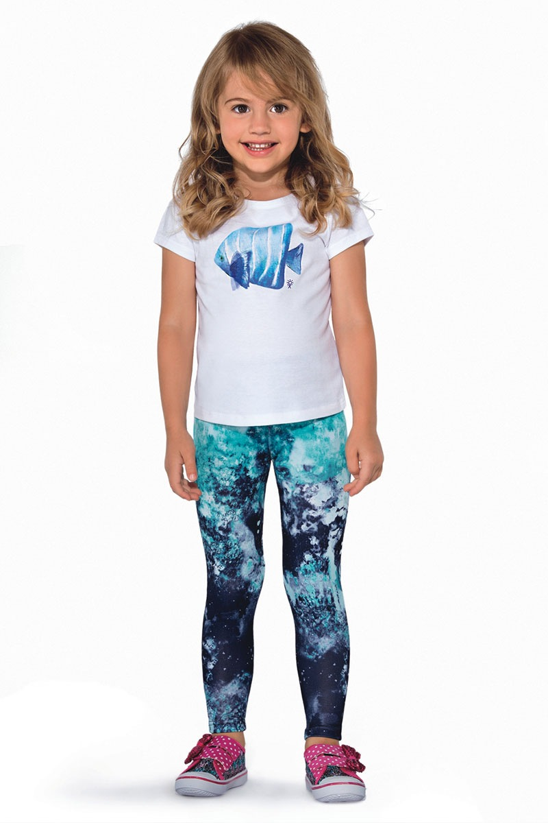 Kolorowe legginsy dziecięce Pati - Pati_leg
