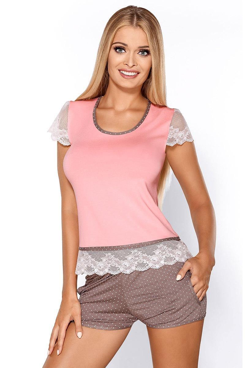 Piżama damska Roxy Pink - RoxyLP_set
