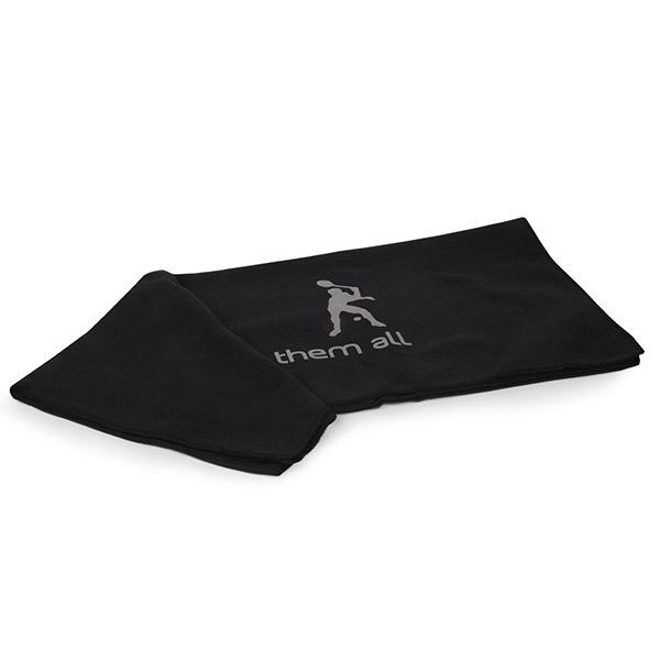 Komplet dwóch ręczników funkcyjnych - czarnych - RucFunkcni_cer