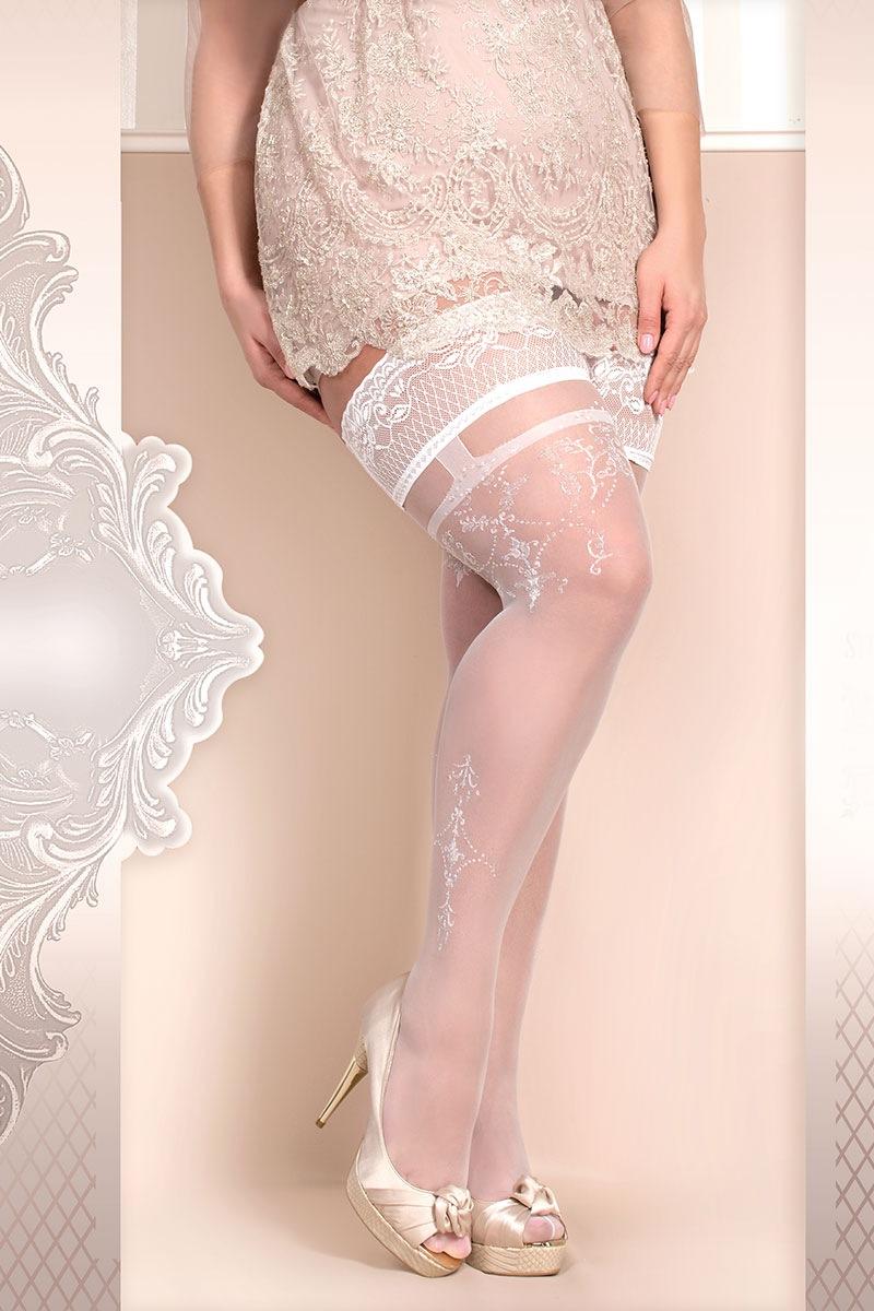 Luksusowe pończochy samonośne Soft Size 361 - SC361_pun