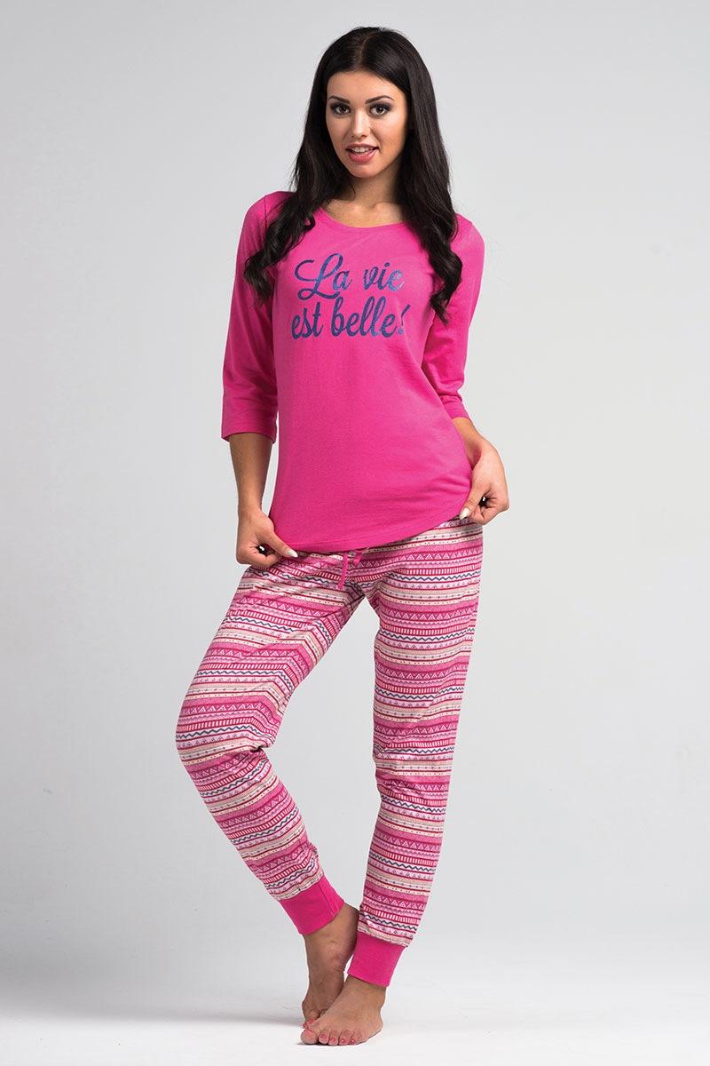Damska piżama La Vie Pink - SalPy1023Pink_pyz