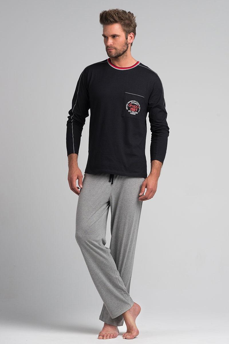 Męska piżama Alan - SamPy063_pyz