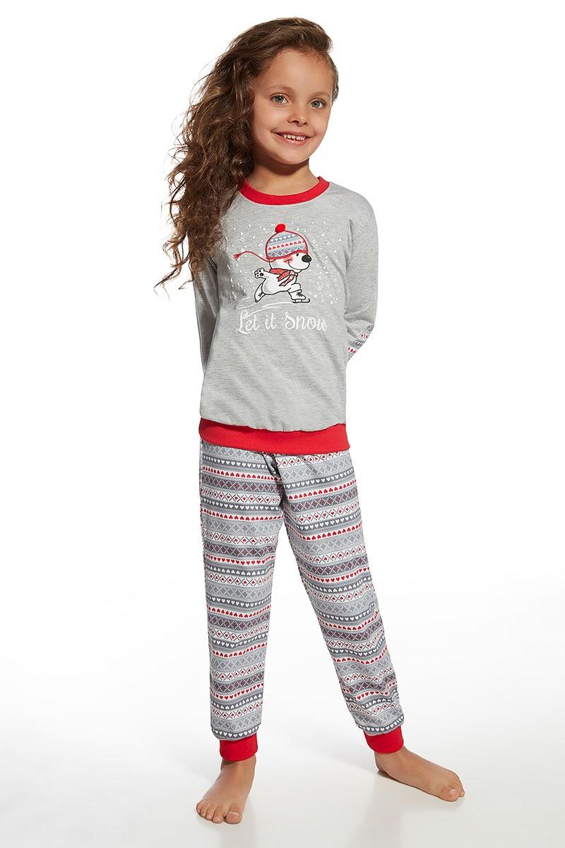 Piżama dziewczęca Snow - Snow59470_pyz