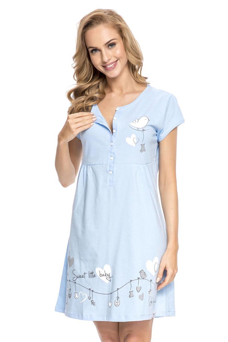 Koszula nocna dla karmiących Tamara Blue