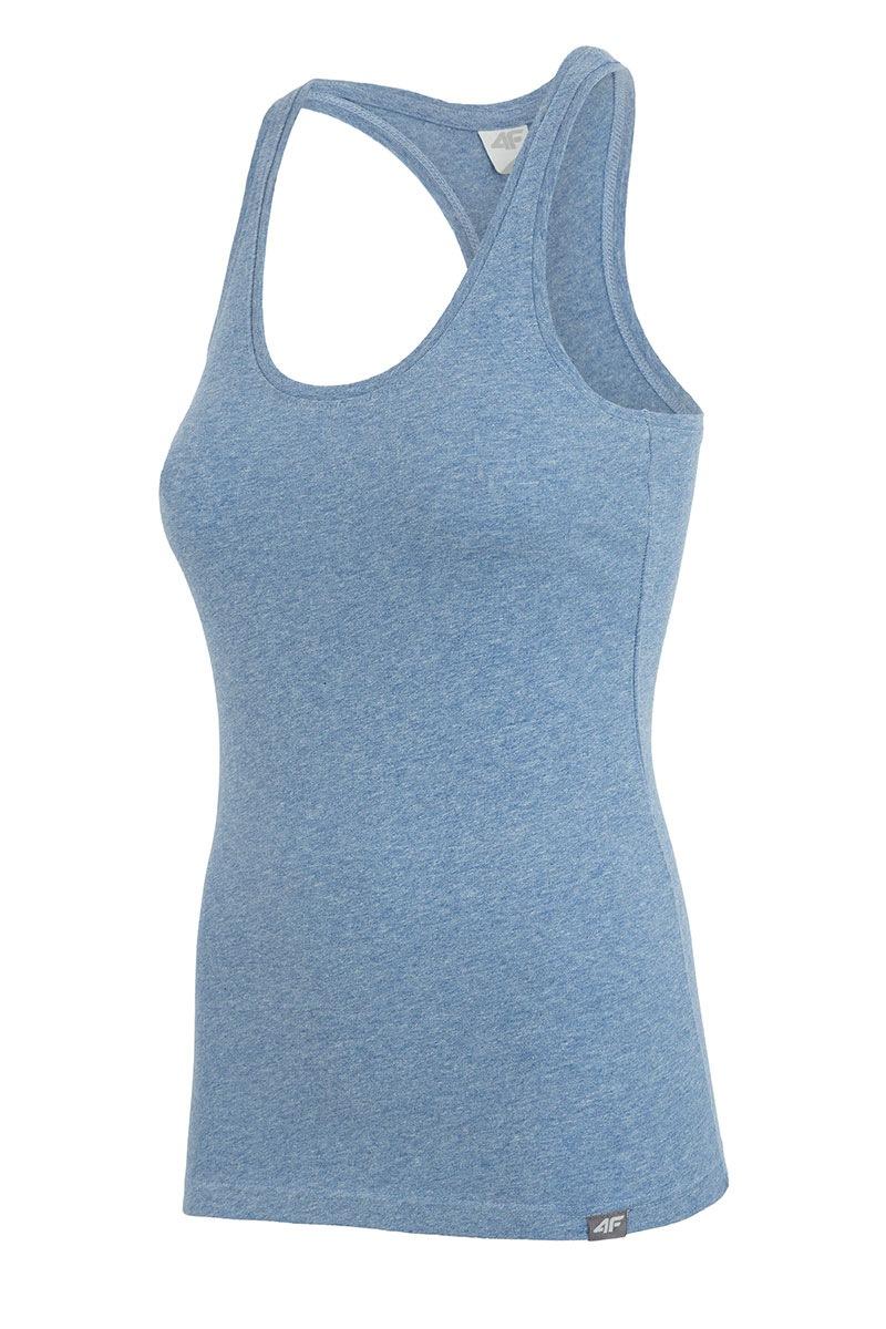Damska koszulka sportowa Blue - TSD001A_C_tri