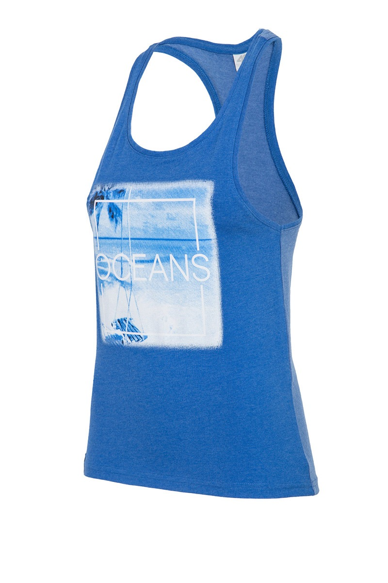 Damski top 4F Oceans Blue - TSD004_C_tri