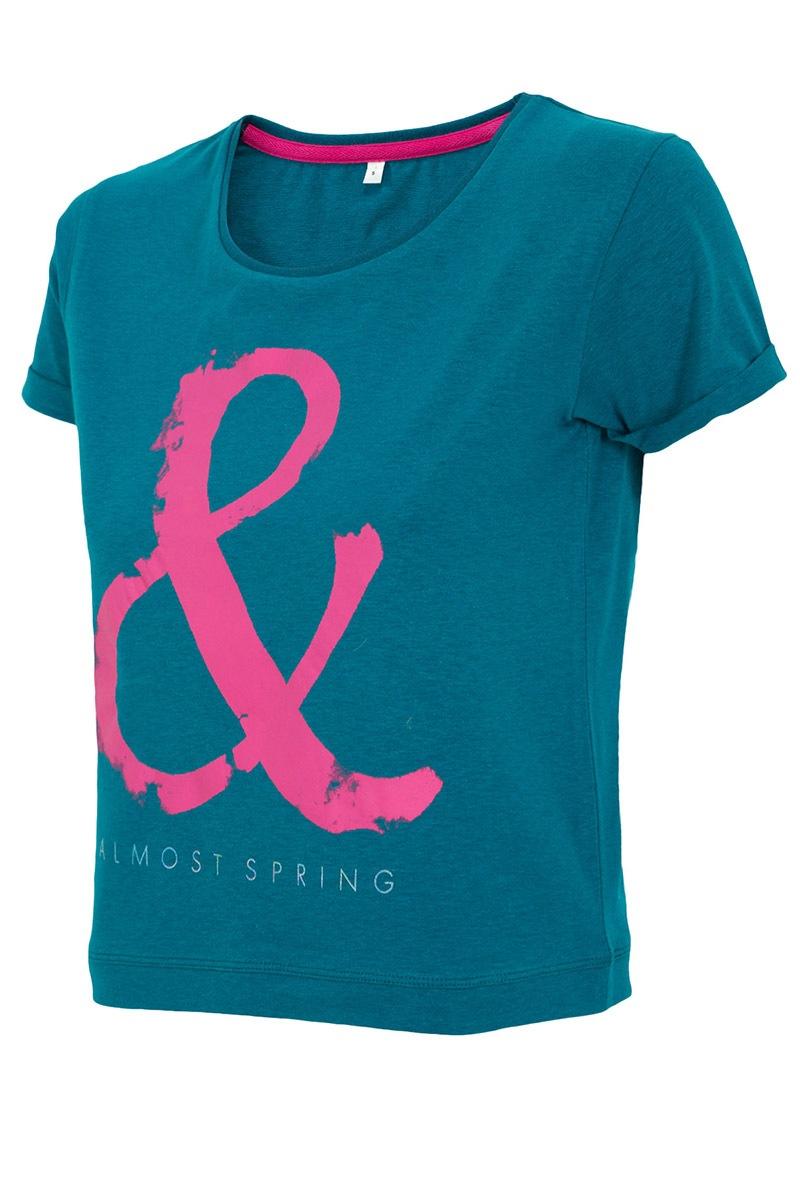 Modny T-shirt sportowy 4F