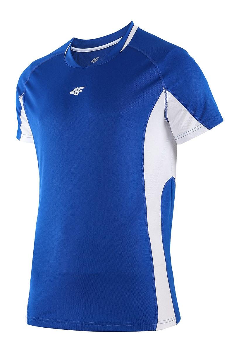 Koszulka sportowa męska Blue - TSMF003Blue_tri