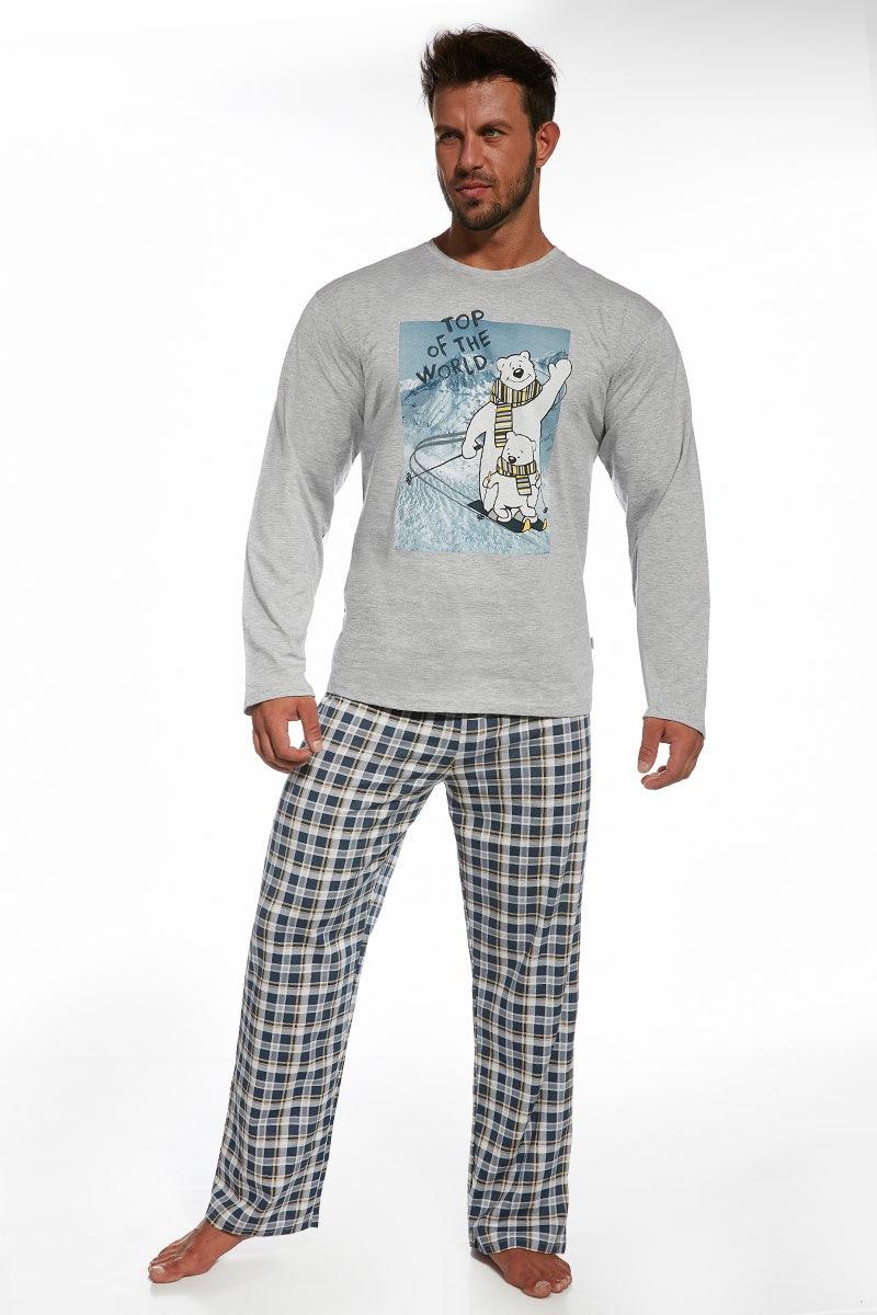 Męska piżama bawełniana Top of the World - TopOfTheWorld12464_pyz