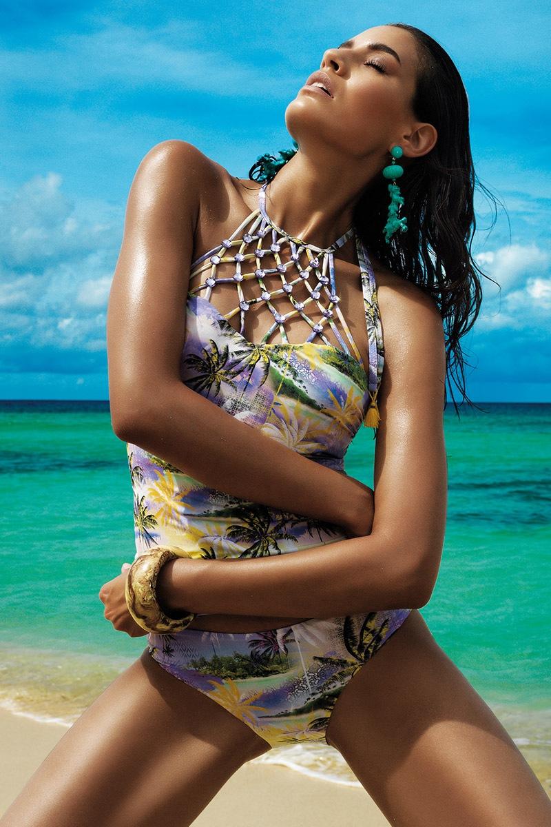 Damski kostium kąpielowy tankini Lirene - VI7025
