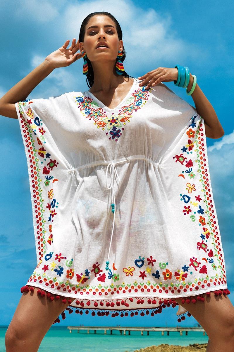 Letnia sukienka plażowa Sara z kolekcji Vacanze - VI7042_sat