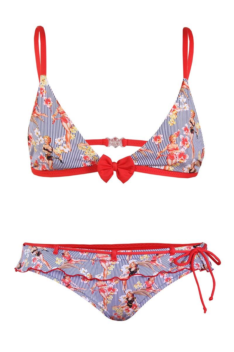 Luksusowy dziewczęcy kostium kąpielowy Mirtillo - VP7001