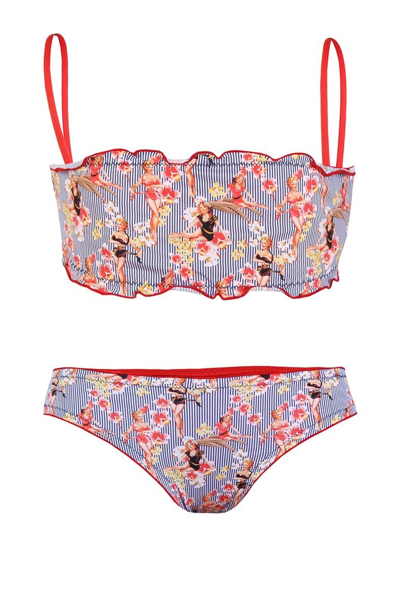 Dziewczęcy kostium kąpielowy Anna - VP7002