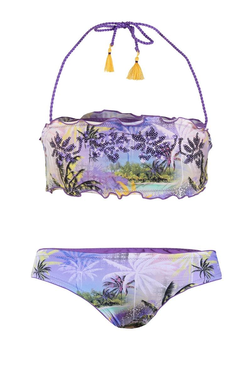 Luksusowy dziewczęcy kostium kąpielowy Sally - VP7007