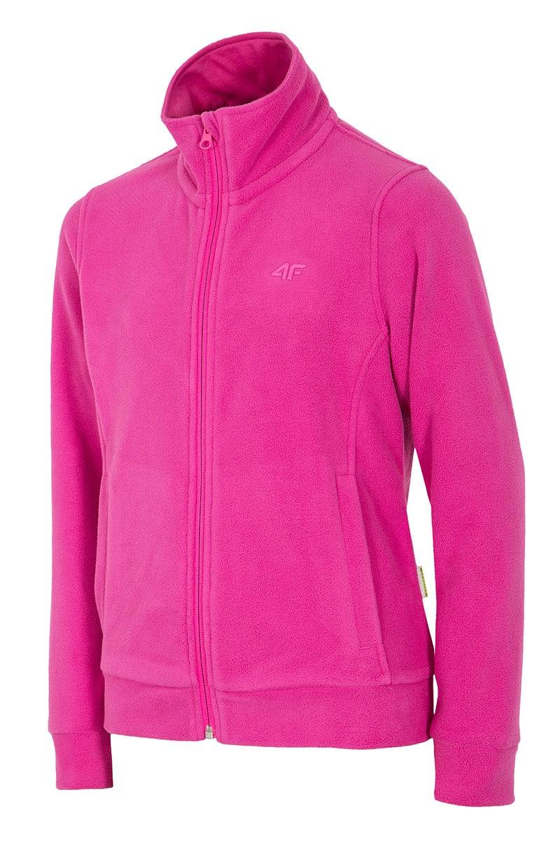 Dziewczęca bluza polarowa Pink 4F - Z16_JPLD001_mik