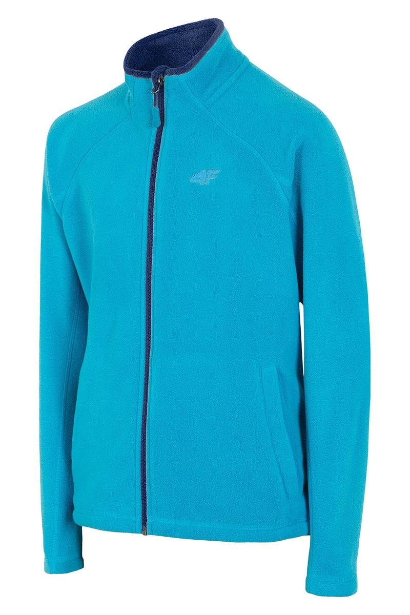 Chłopięca bluza sportowa Blue 4F - Z16_JPLM001_mik