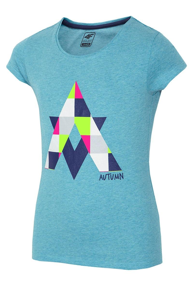 Koszulka dziewczęca Autumn Blue - Z16_JTSD001_T_tri