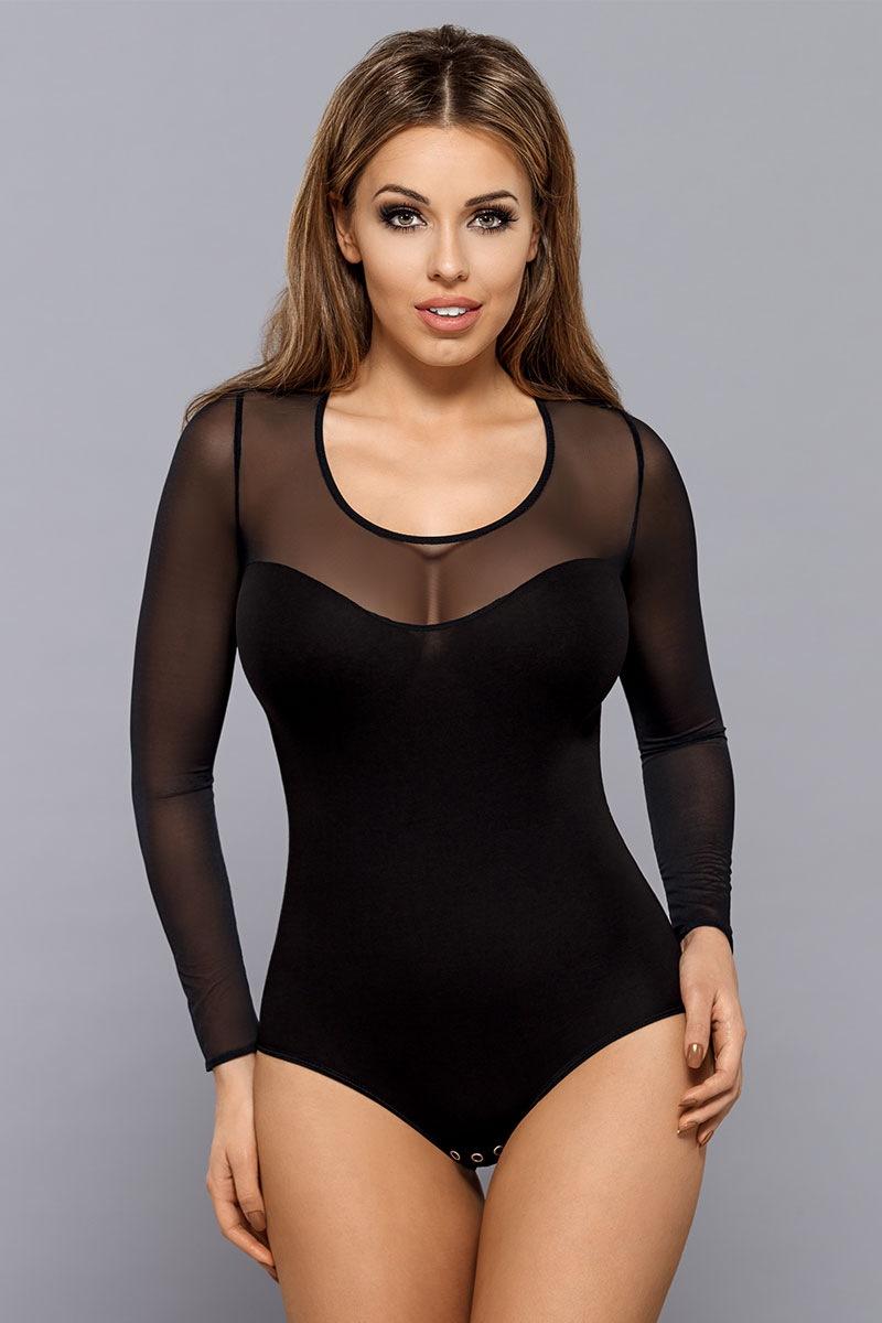 Body damskie Ali czarne - BD0026_bod