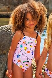 Dziewczęcy kostium kąpielowy Arae