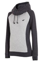 Damska bluza sportowa 4F Double Grey