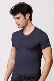 Męski bawełniany T-shirt włoskiej produkcji Enrico Coveri ET1505 Blumel