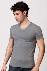 Męski bawełniany T-shirt włoskiej produkcji Enrico Coveri ET1505 Grimel