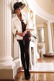 Eleganckie rajstopy Glamour Soft Black