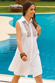 Letnia sukienka koszulowa Mia z kolekcji Iconique